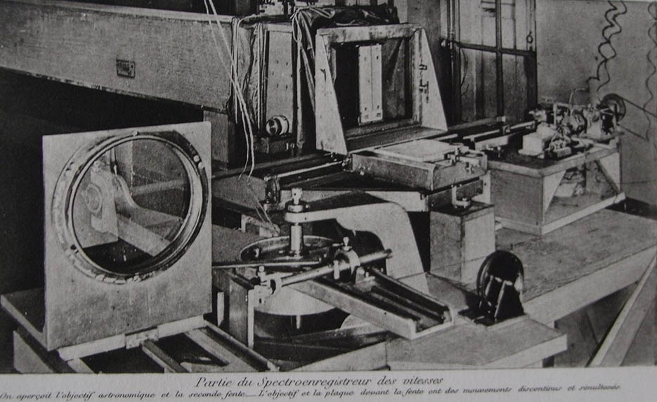 The Meudon spectrophotometer around 1910. From <i>