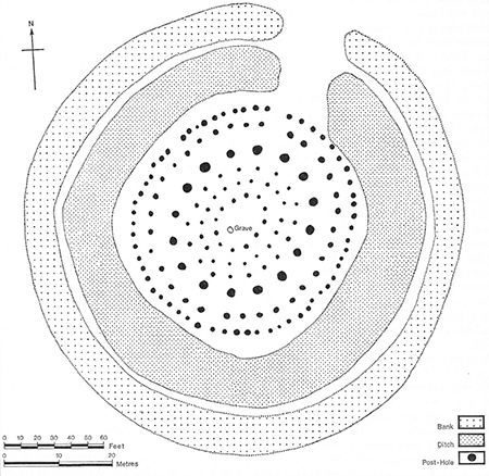 <strong>Fig. 5</strong>. Plans of Woodhenge showin