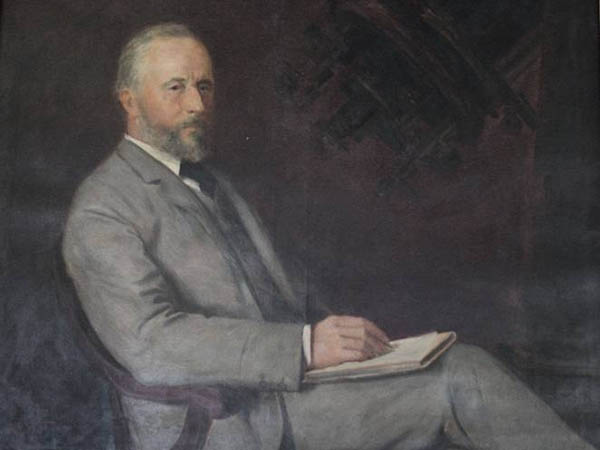 Portrait of Sir David Gill by G.M. Winkles (1897),