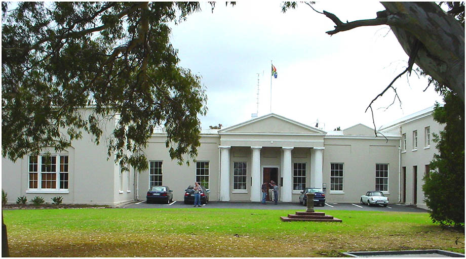 The Main Building. Photograph © Ian Glass
