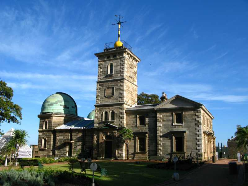 Sydney Observatory today. Photograph Geoff Wyatt �