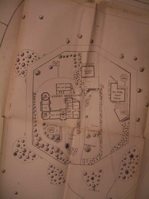 The 1880 plan of Sydney Observatory and its ground