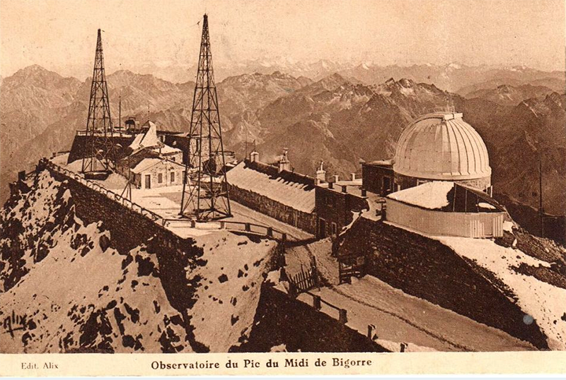 <strong>Fig. 30</strong>. The Pic du Midi Observat