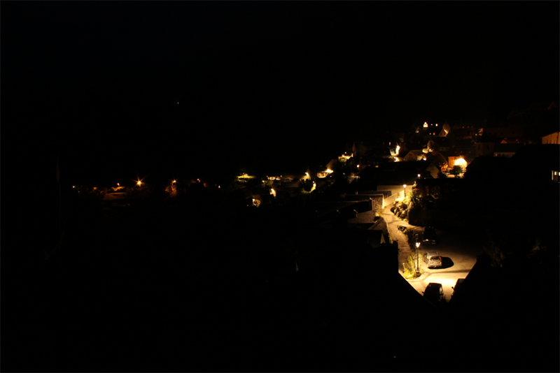 <strong>Fig. 44</strong>. Lighting in the village