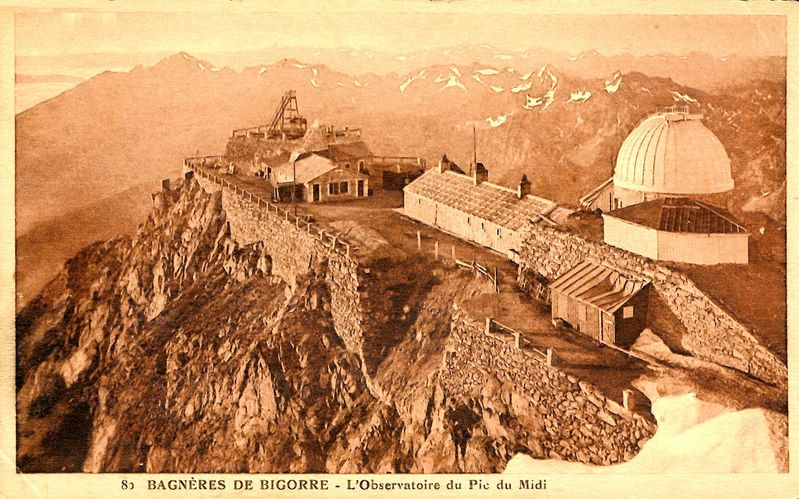 <strong>Fig. 29</strong>. The Pic du Midi Observat