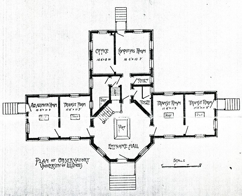 <strong>Fig. 2</strong>. Floor plan of the main Ob