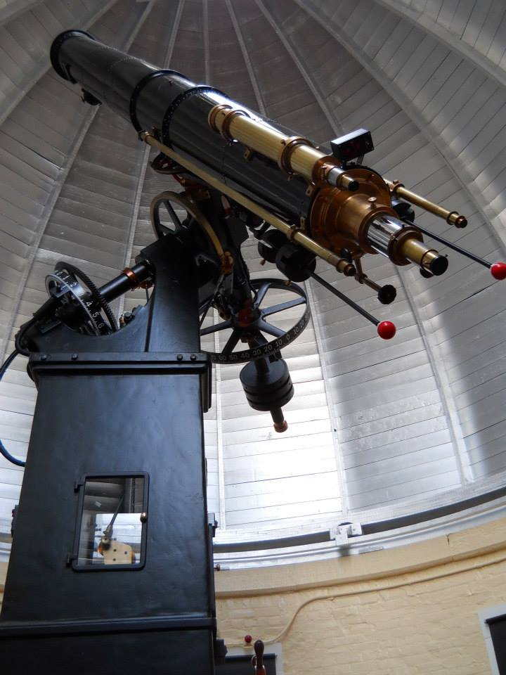 <strong>Fig. 7</strong>. The renovated telescope,