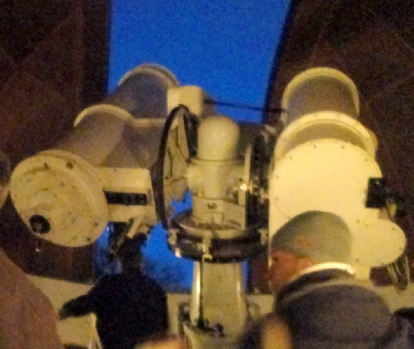 Lippert Astrograph and Salvador telescope (Photo: