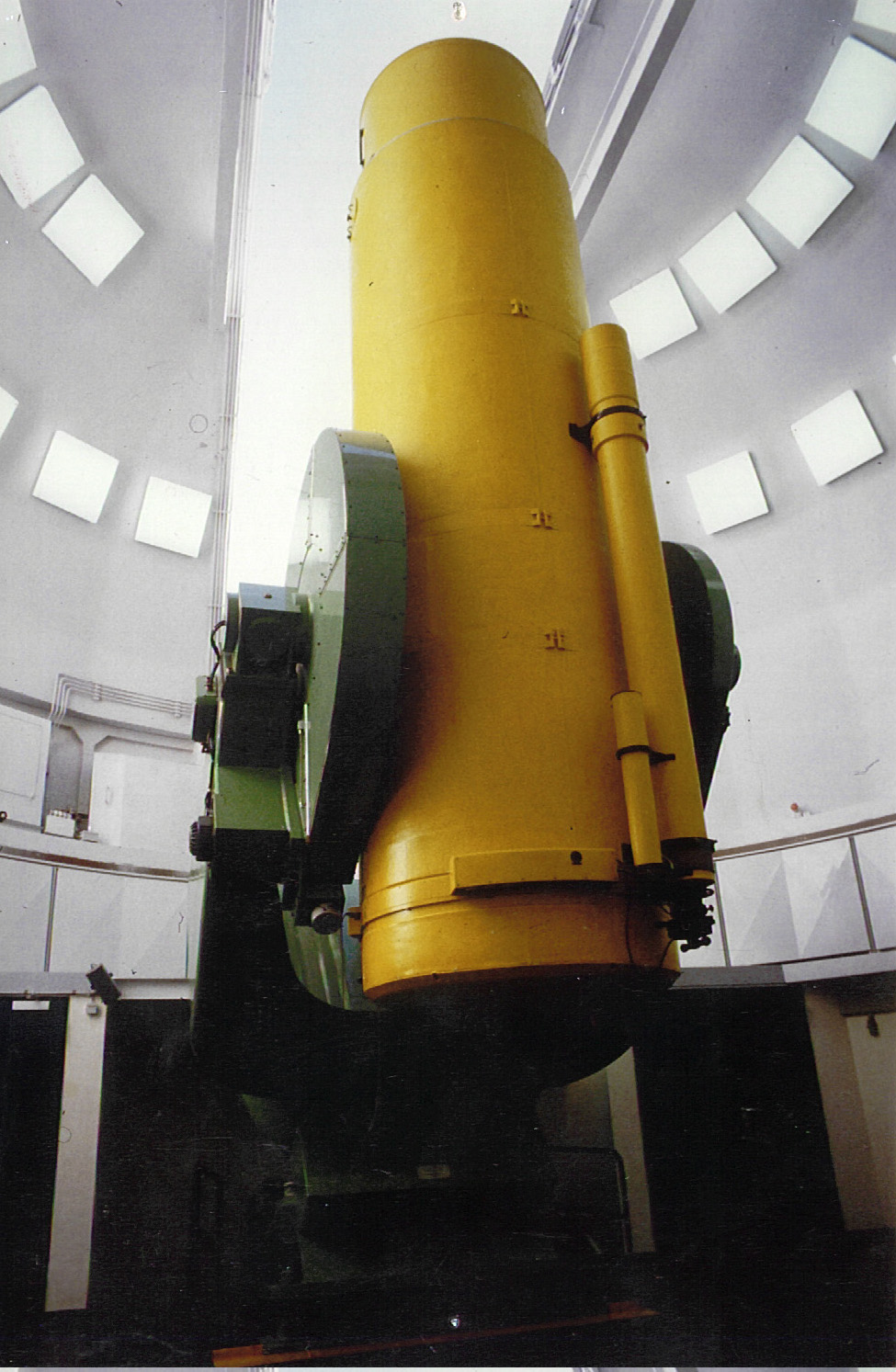 Original Schmidt Telescope of Hamburg Observatory,