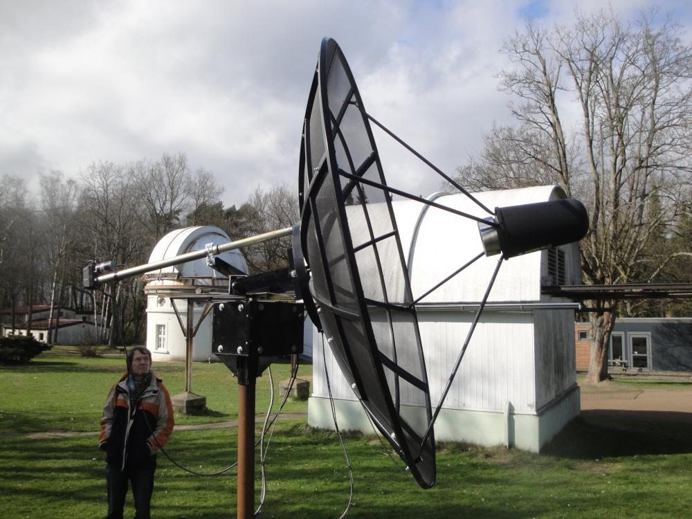 OLT Reflecting Telescope and small Radio Telescope