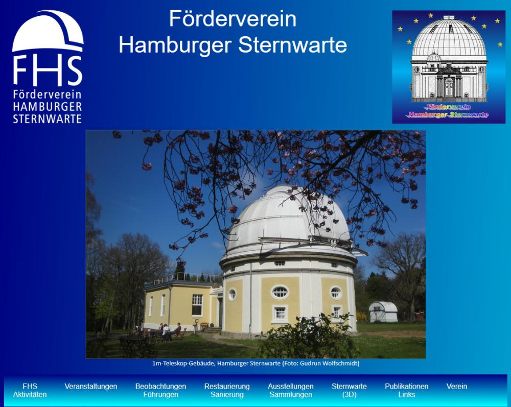 Association Promoting Hamburg Observatory (FHS), G