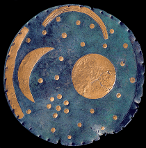 Nebra Sky Disc, front. Photo © Emília Pásztor
