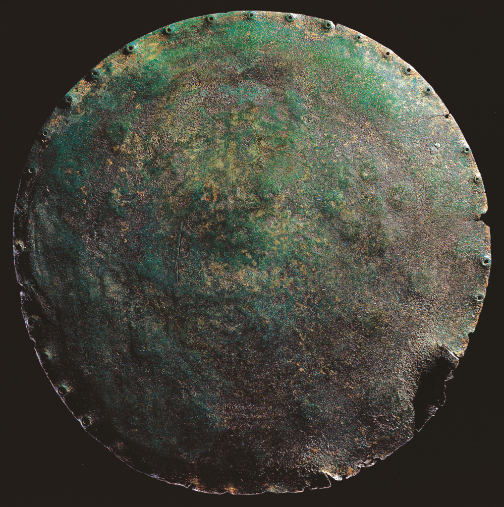Nebra Sky Disc, back. After H. Meller, <i>Der Gesc