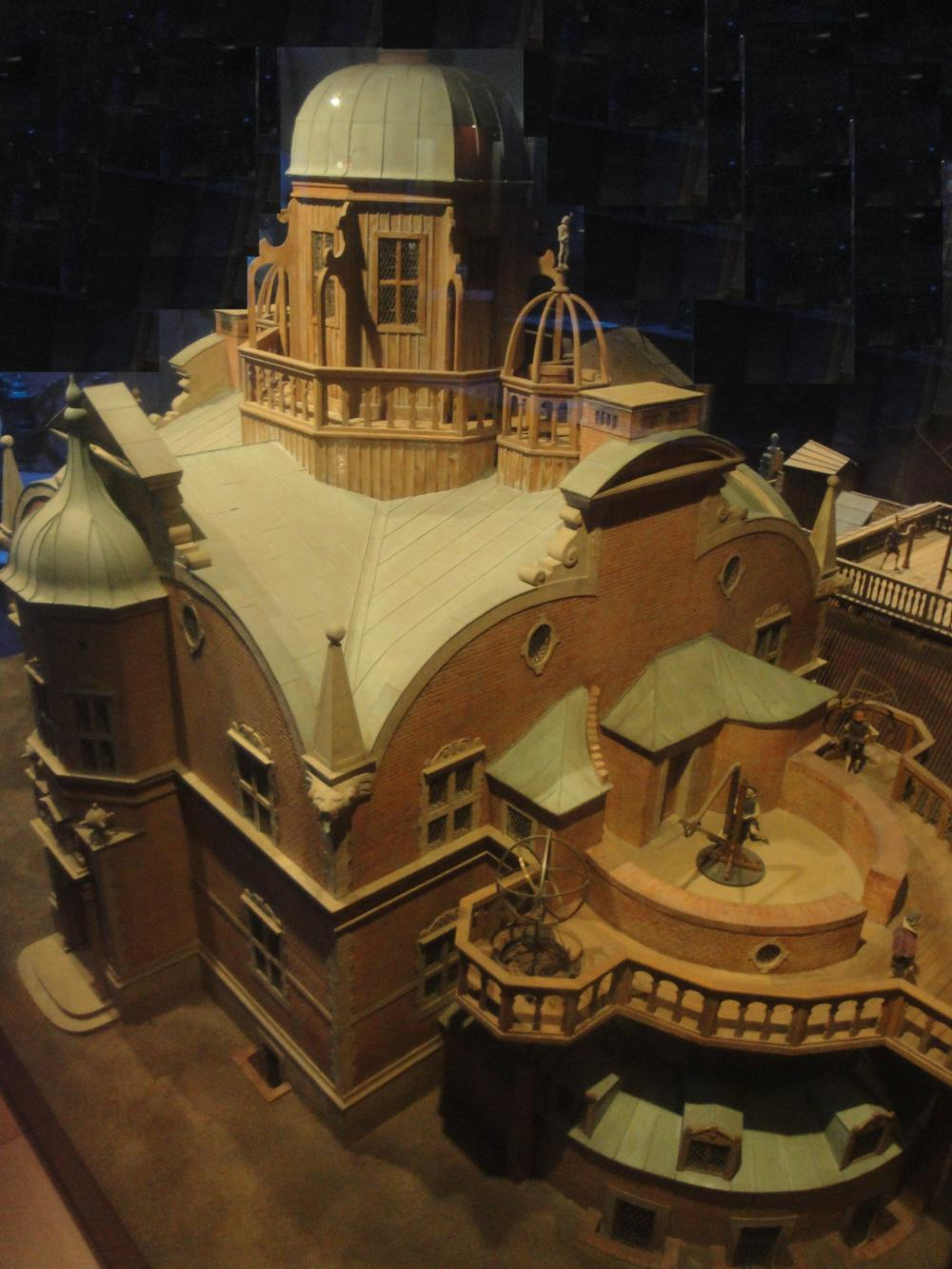 Uraniborg, model in the Deutsches Museum Munich (P