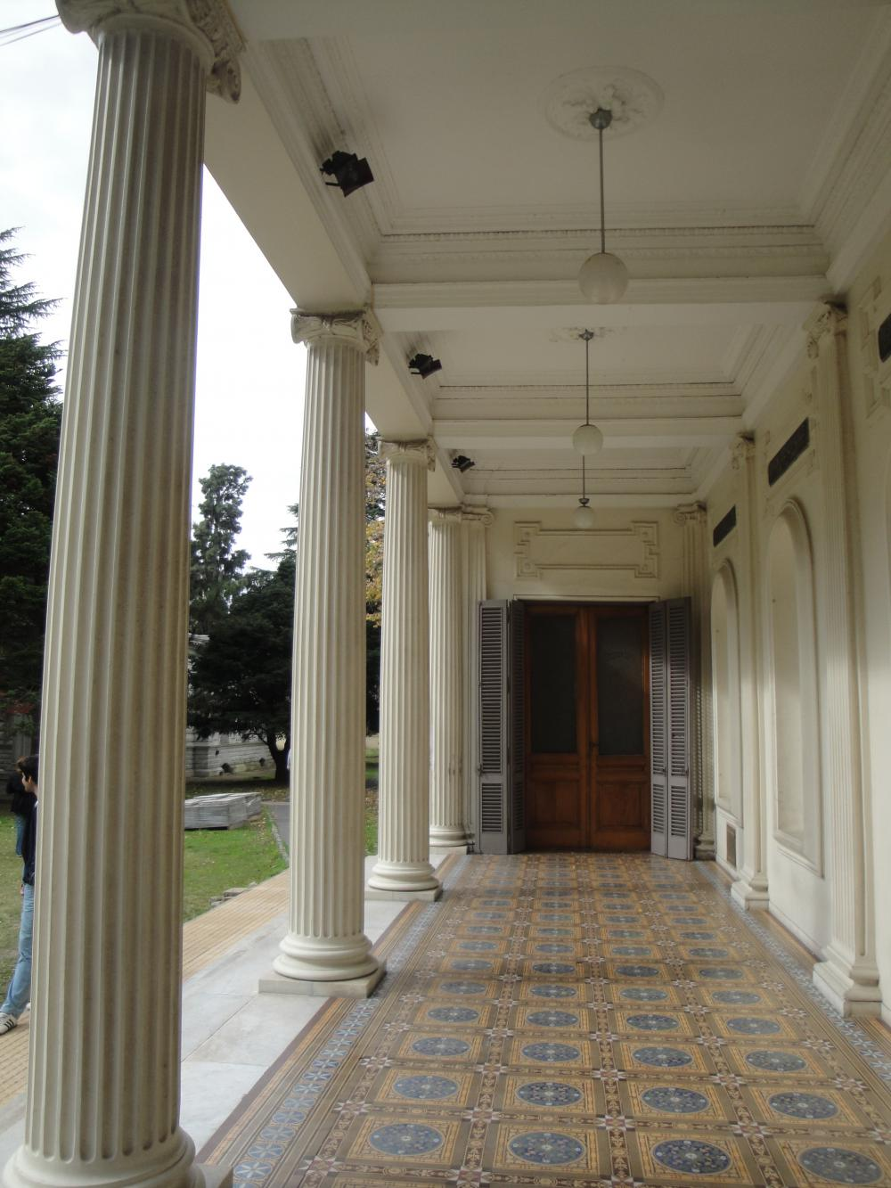 La Plata Astronomical Observatory, Entrance (Photo