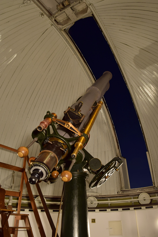 Main telescope, built by Repsold & Söhne (Ham