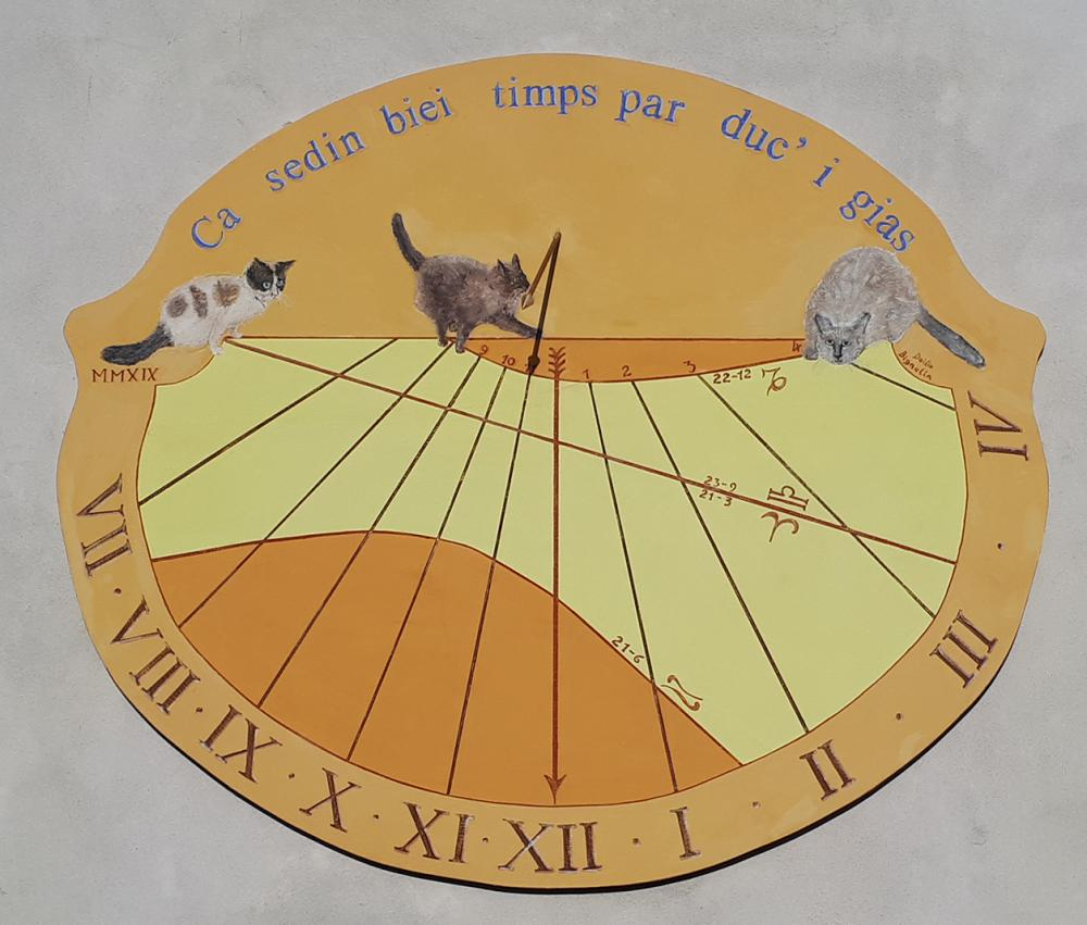 Sundial number 4 for 2019 contest. © ilsoleeiltem