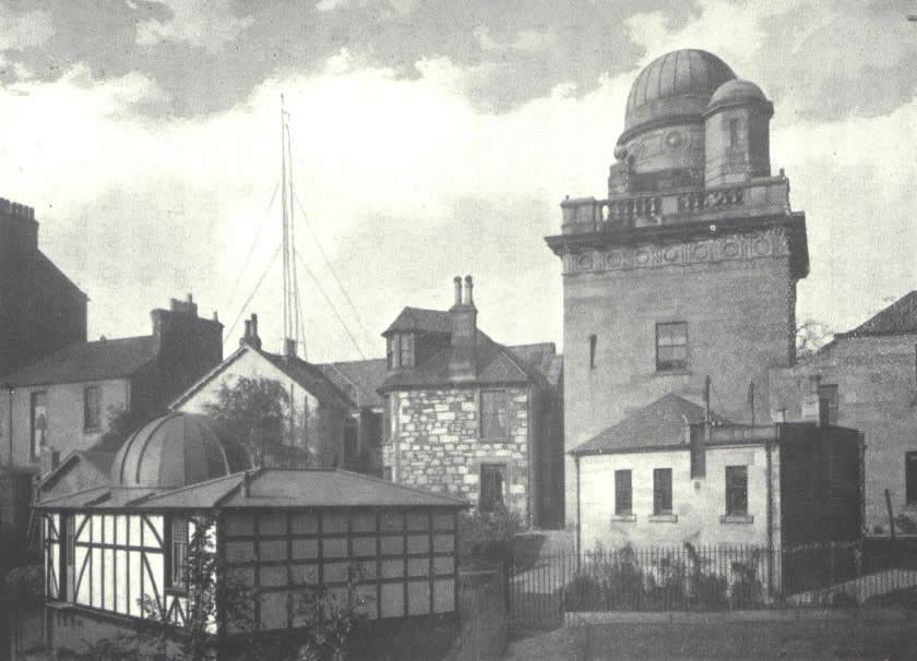 The Coats Observatory complex, taken around 1900 -