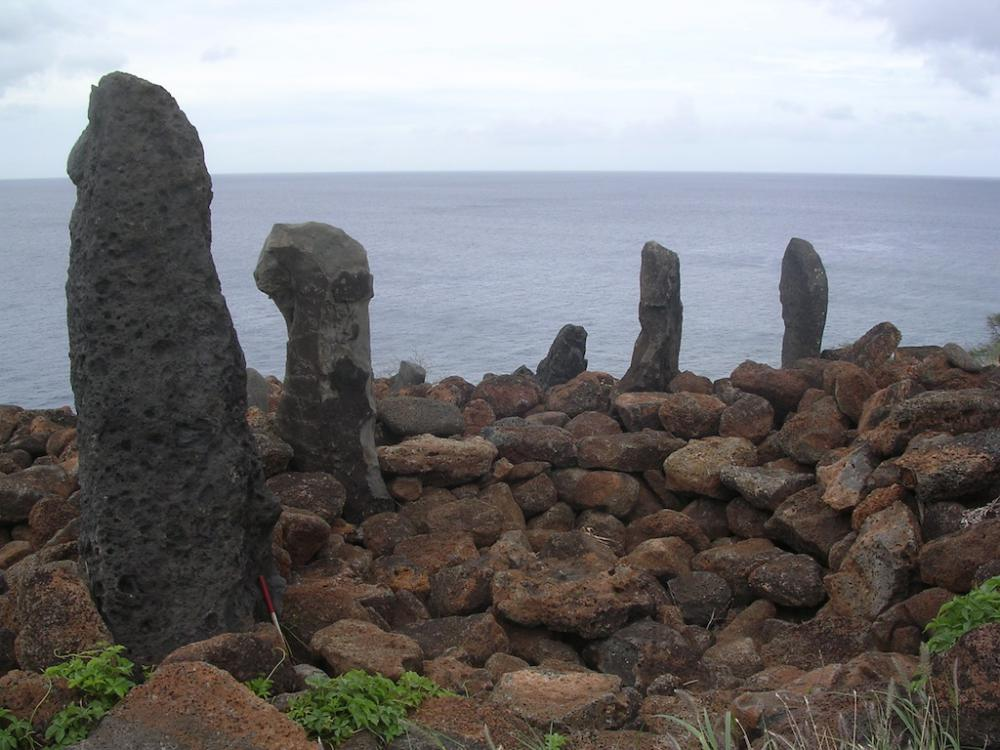 Navigation temple (<i>heiau</i>) at Holo Moana, Is