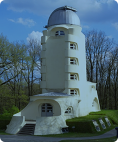 The Einstein Tower, Potsdam, Germany. Photograph �